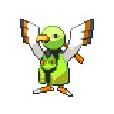 Pokémon Pokédex Nummer 178 Xatu Shiny