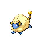 Pokémon Pokédex Nummer 179 Voltilamm