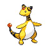 Pokémon Pokédex Nummer 181 Ampharos