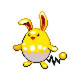 Pokémon Pokédex Nummer 184 Azumarill Shiny