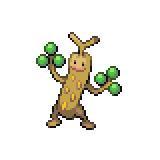 Pokémon Pokédex Nummer 185 Mogelbaum