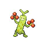 Pokémon Pokédex Nummer 185 Mogelbaum Shiny