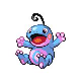 Pokémon Pokédex Nummer 186 Quaxo Shiny