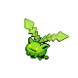 Pokémon Pokédex Nummer 187 Hoppspross Shiny