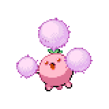 Pokémon Pokédex Nummer 189 Papungha Shiny