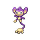 Pokémon Pokédex Nummer 190 Griffel
