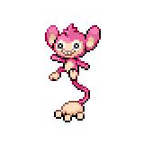 Pokémon Pokédex Nummer 190 Griffel Shiny