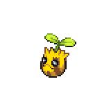 Pokémon Pokédex Nummer 191 Sonnkern Shiny