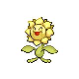 Pokémon Pokédex Nummer 192 Sonnflora Shiny