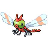 Pokémon Pokédex Nummer 193 Yanma