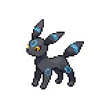 Pokémon Pokédex Nummer 197 Nachtara Shiny