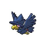 Pokémon Pokédex Nummer 198 Kramurx