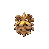 Pokémon Pokédex Nummer 204 Tannza Shiny