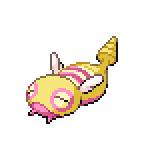 Pokémon Pokédex Nummer 206 Dummisel Shiny