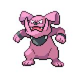 Pokémon Pokédex Nummer 210 Granbull