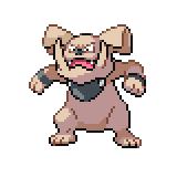 Pokémon Pokédex Nummer 210 Granbull Shiny