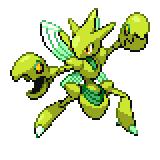 Pokémon Pokédex Nummer 212 Scherox Shiny