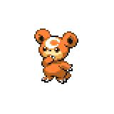 Pokémon Pokédex Nummer 216 Teddiursa