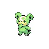 Pokémon Pokédex Nummer 216 Teddiursa Shiny
