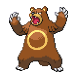 Pokémon Pokédex Nummer 217 Ursaring