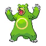 Pokémon Pokédex Nummer 217 Ursaring Shiny