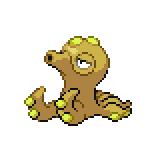 Pokémon Pokédex Nummer 224 Octillery Shiny