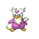 Pokémon Pokédex Nummer 225 Botogel Shiny