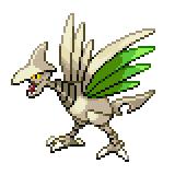 Pokémon Pokédex Nummer 227 Panzaeron Shiny