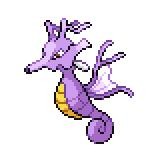 Pokémon Pokédex Nummer 230 Seedraking Shiny