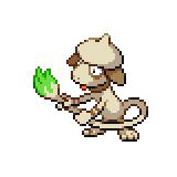 Pokémon Pokédex Nummer 235 Farbeagle