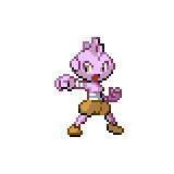 Pokémon Pokédex Nummer 236 Rabauz