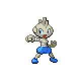 Pokémon Pokédex Nummer 236 Rabauz Shiny