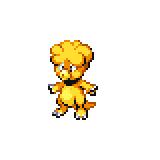 Pokémon Pokédex Nummer 240 Magby Shiny