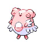 Pokémon Pokédex Nummer 242 Heiteira Shiny