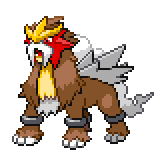Pokémon Pokédex Nummer 244 Entei