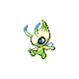 Pokémon Pokédex Nummer 251 Celebi
