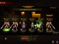 PvP-Browserspiel mit Arenakämpfen