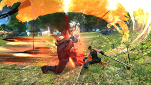 MMORPG PvP Duell