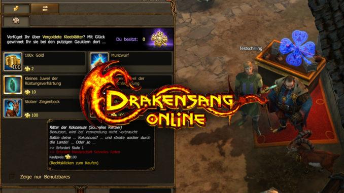 Neuer Händler, neue Reittiere, neue Items für Drakensang Online