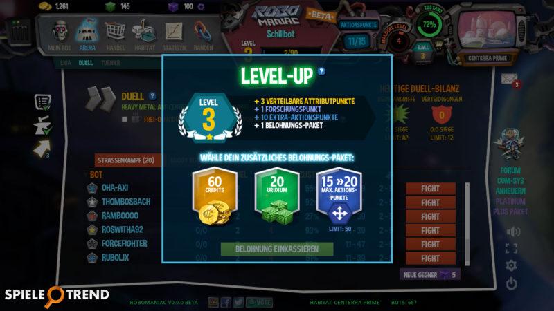 Robomaniac Browsergame