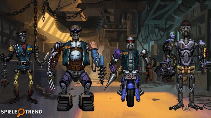 Robomaniac Spielwelten im Browsergame