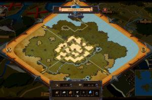 Weltkarte im Rollenspiel