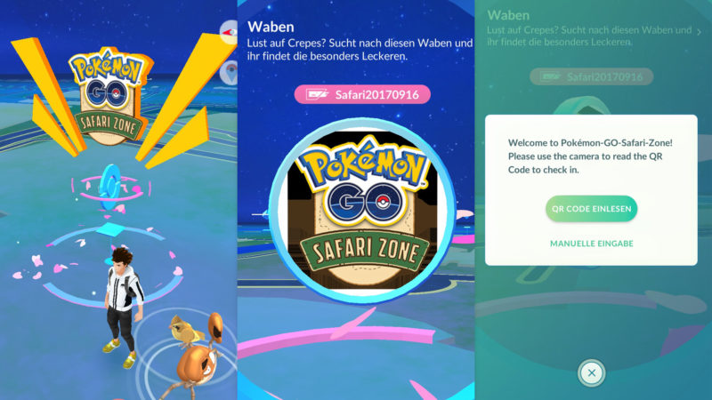 Safari-Event PokéStop