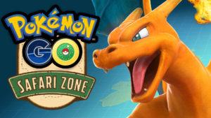 Safari Zone Event in Pokémon GO