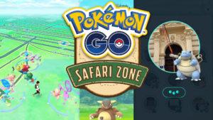 Safari-Zonen Pokémon in Prag