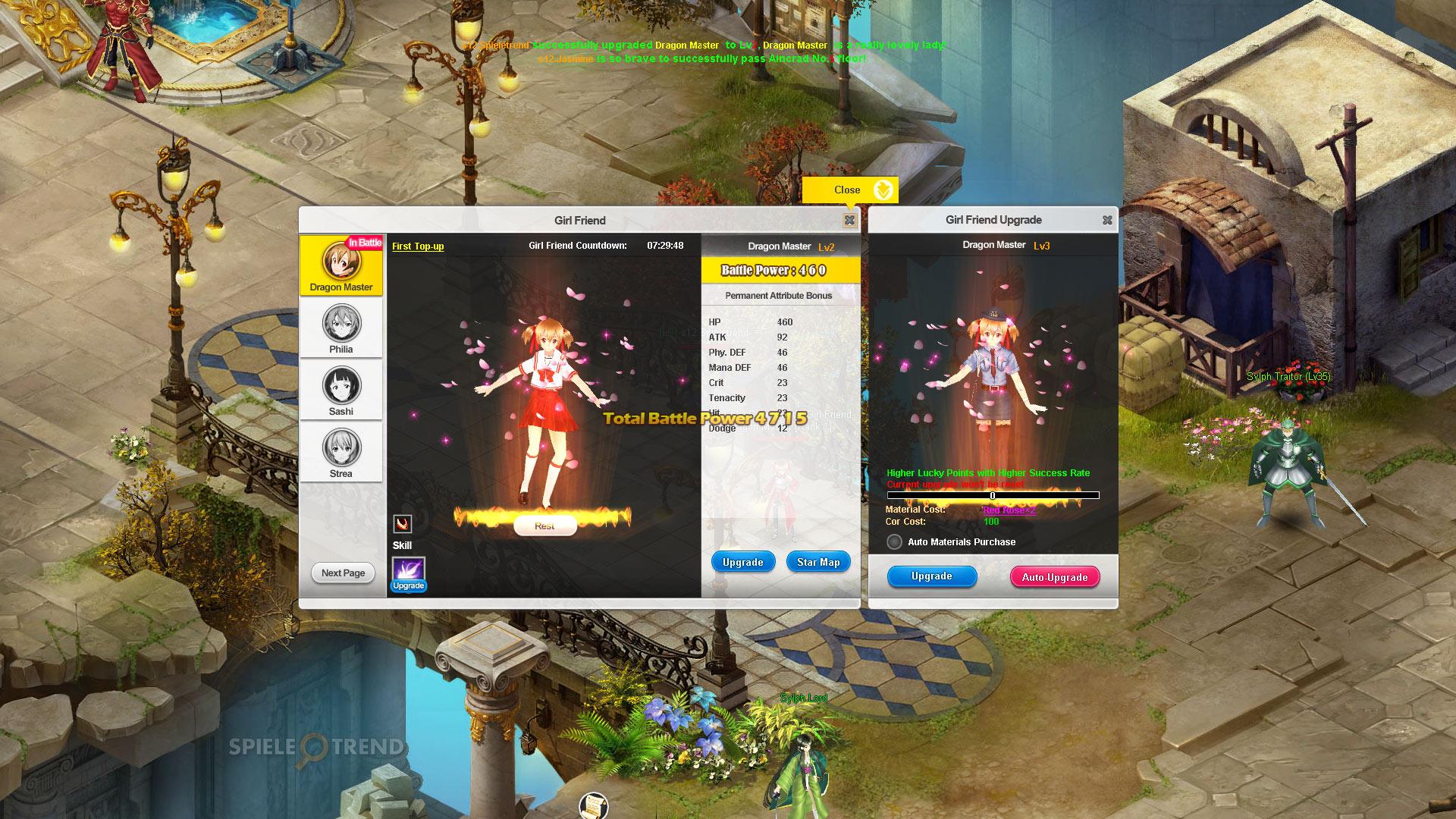 SAO's Legend: Kostenloses Sword Art Online Browserspiel