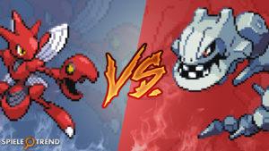 Pokémon GO: Scherox vs Stahlos