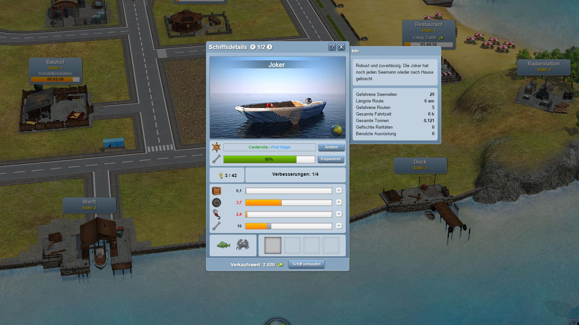 Big Bait Schiffe