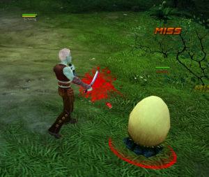 Schurke gegen Ei