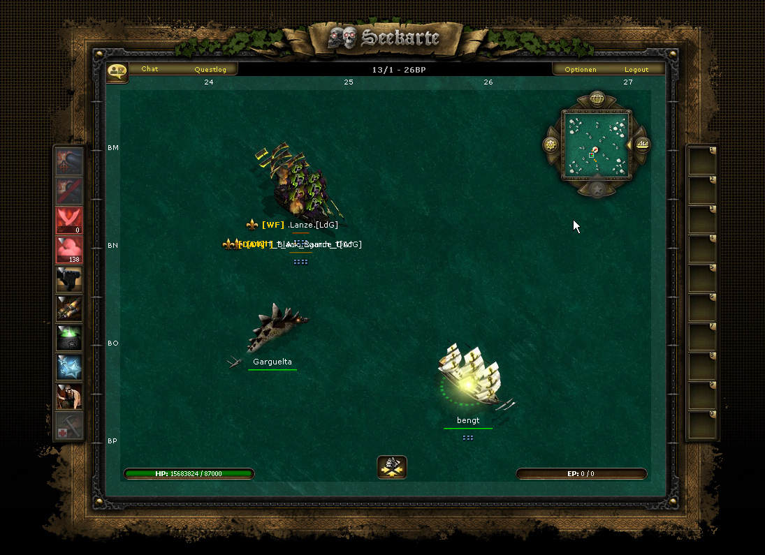Browsergame Piraten